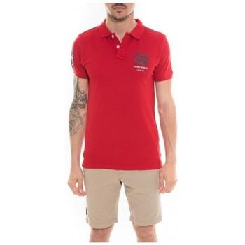 Vêtements Homme Polos manches courtes Ritchie Polo manches courtes PUMY Rouge