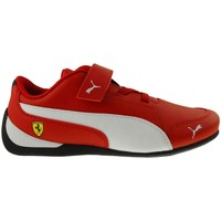 Chaussures Enfant Baskets basses Puma SF Drift Cat 7 V PS Blanc-Noir-Rouge