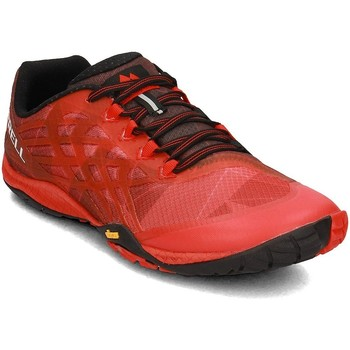 Chaussures Homme Baskets basses Merrell Trail Glove 4 Rouge