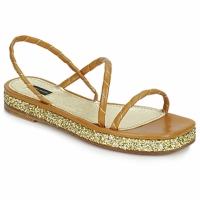 Chaussures Femme Sandales et Nu-pieds Marc Jacobs MJ16405 Marron / Gold