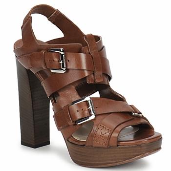 Chaussures Femme Sandales et Nu-pieds Michael Kors MOWAI Marron