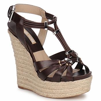 Chaussures Femme Sandales et Nu-pieds Michael Kors IDALIA Marron