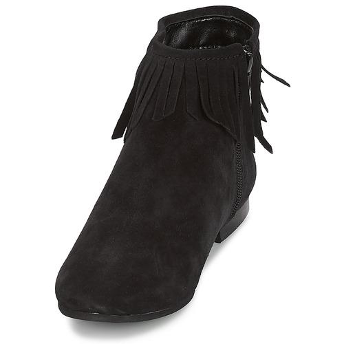 Coachella Femme André Boots André Boots Femme Coachella Noir f7gyYb6