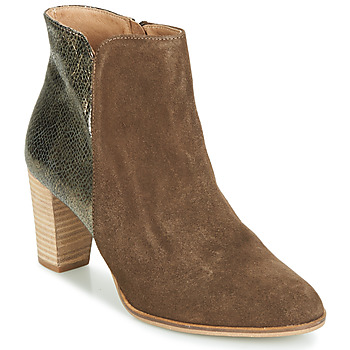 Chaussures Femme Boots André LEONORA 3 Taupe