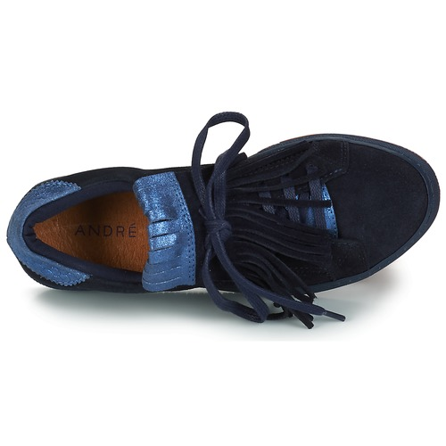 André California Baskets Femme Basses Bleu N0nwO8vm