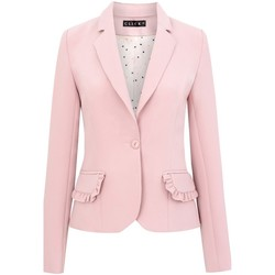 Vêtements Femme Vestes / Blazers Click Fashion Vest model 104259 rosé