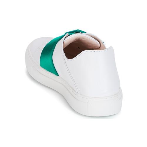 Parikka Basses white Chaussures Royal Emerald Femme Baskets Minna XO8PNn0wk