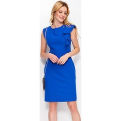 Vêtements Femme Robes courtes Makadamia Robe de cocktail model 113412 bleu