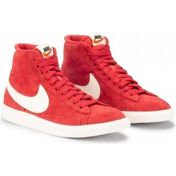 Chaussures Femme Baskets montantes Nike Blazer Mid rouge - baskets rouge