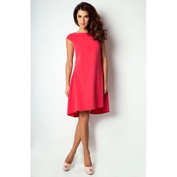 Vêtements Femme Robes longues Ivon Robe de cocktail model 86896 rouge