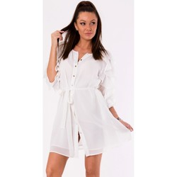 Vêtements Femme Robes courtes Yournewstyle Robe de cocktail model 115825 blanc