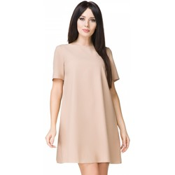 Vêtements Femme Robes courtes Tessita Robe de cocktail model 93571 beige