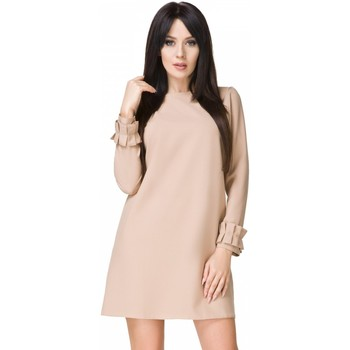 Vêtements Femme Robes courtes Tessita Robe de cocktail model 93577 beige