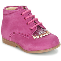 Chaussures Fille Boots André LILY Fuchsia