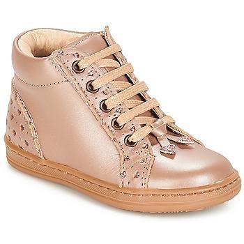 Chaussures Fille Boots André PETIT COEUR Beige