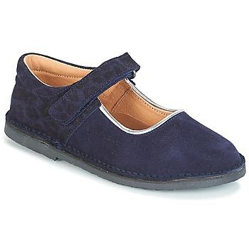 Chaussures Fille Ballerines / babies André AURORA Marine