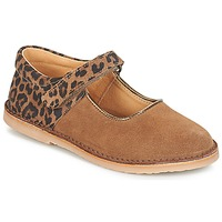 Chaussures Fille Ballerines / babies André AURORA Camel