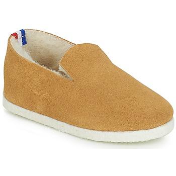 Chaussures Fille Chaussons bébés André BANQUISE Camel