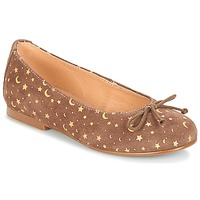 Chaussures Fille Ballerines / babies André MOON Taupe