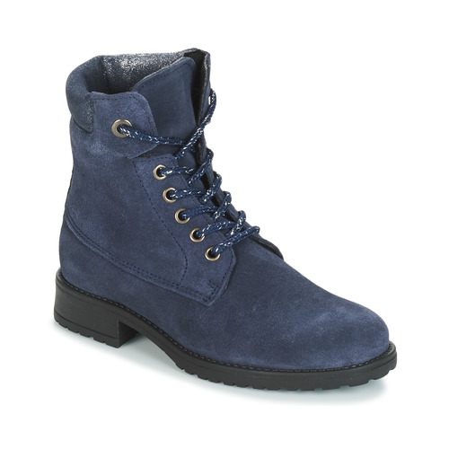 Chaussures Fille Boots André KATE Marine