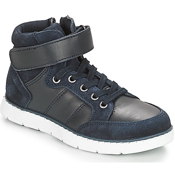 Chaussures Garçon Baskets montantes André TOM Marine