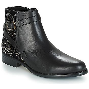 best service 4506d f61ea Chaussures Femme Boots André CAVIAR P Noir