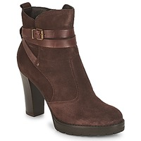 Chaussures Femme Bottines André EXTRA Marron