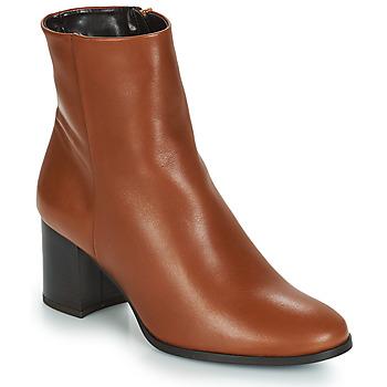 Chaussures Femme Bottines André DARA Camel