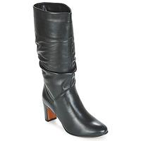 Chaussures Femme Bottes ville André SARA Noir