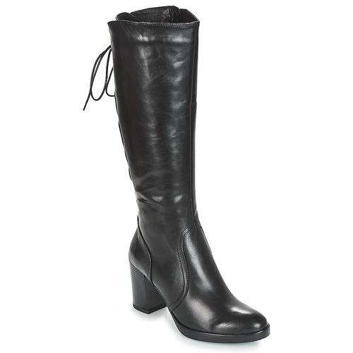 Chaussures Femme Bottes ville André OPALE Noir