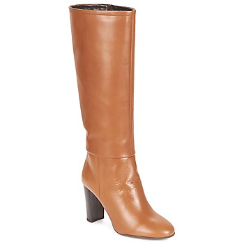Chaussures Femme Bottes ville André YOLANDA Camel