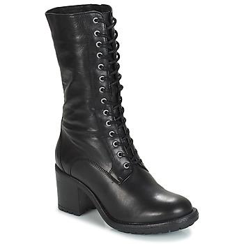 89bfb75796b25f Chaussures Femme Bottes ville André DARK Noir