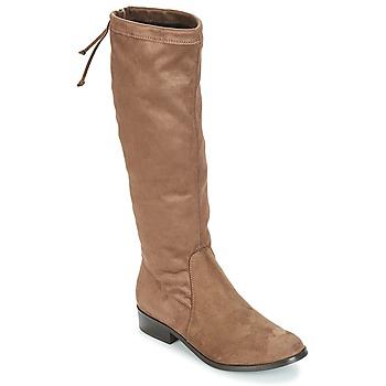 Chaussures Femme Bottes ville André ANAIS Taupe
