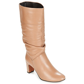 Chaussures Femme Bottes ville André SARA Beige