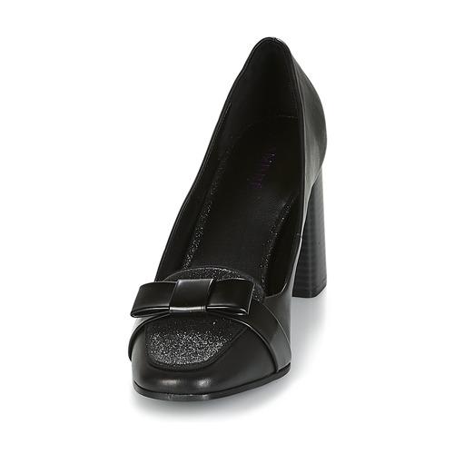 Escarpins André Noir Chaussures Editha Femme QCdBoWxer
