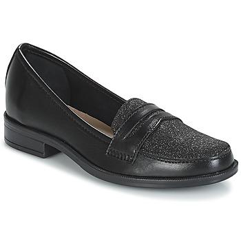 Chaussures Femme Mocassins André LONG ISLAND Noir