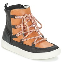 Chaussures Femme Boots André SNOW Camel