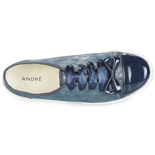Basses Boutique André Bleu Femme Baskets OXTZuwPki