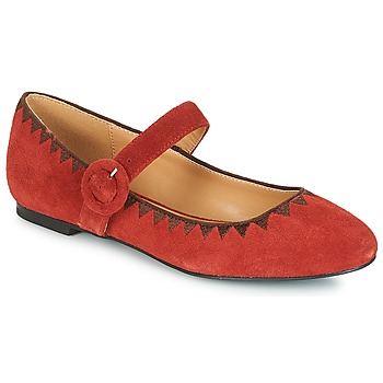 Chaussures Femme Ballerines / babies André ALBOROZA Rouge