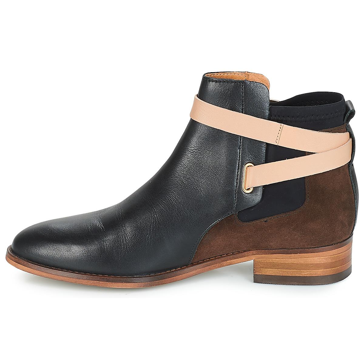 André Montana Noir - Livraison Gratuite Chaussures Boot Femme 95,20 €