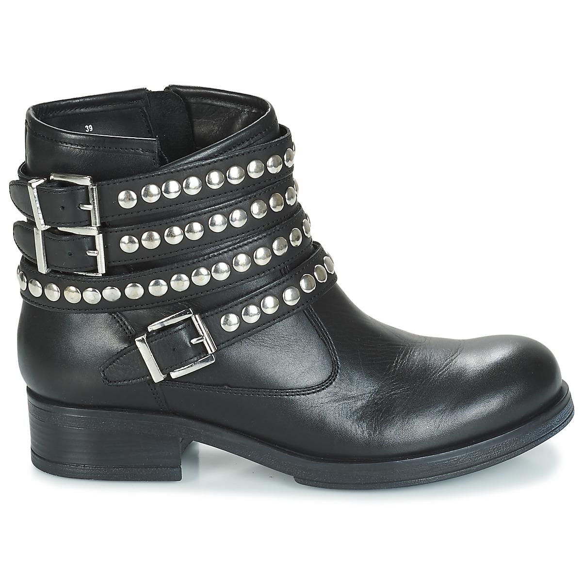 André Ofelia Noir - Livraison Gratuite Chaussures Boot Femme 111,20 €