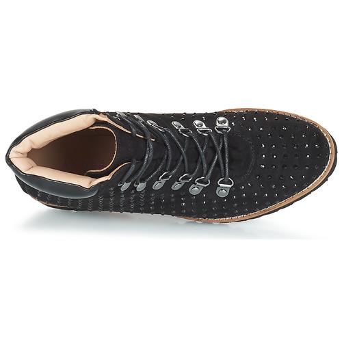Femme Boots André Noir Chaussures Calcedoine E9H2YbeWDI