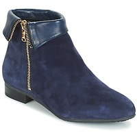 Chaussures Femme Boots André PIMENTO Marine
