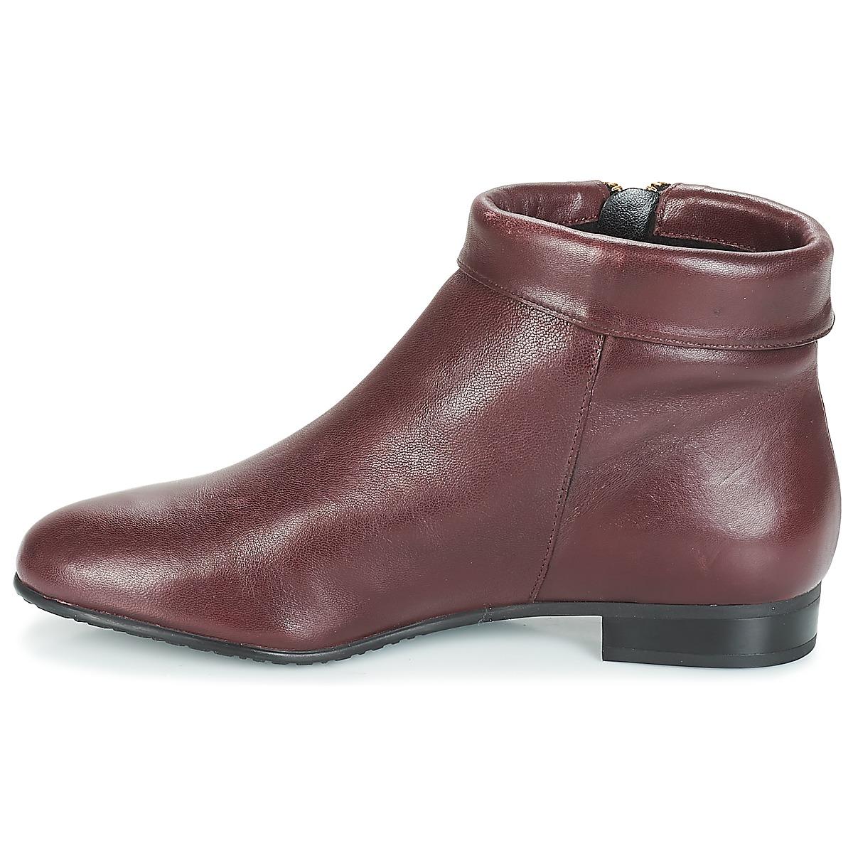 André Pimento Bordeaux - Livraison Gratuite Chaussures Boot Femme 95,20 €