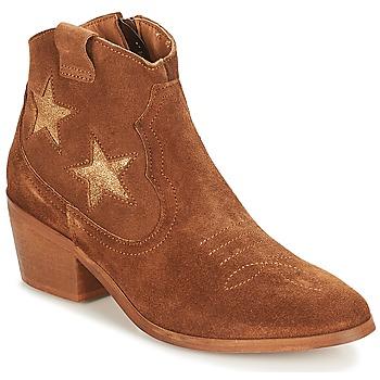 Chaussures Femme Boots André CELESTE Camel
