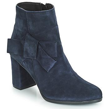 Chaussures Femme Bottines André LEONOR Bleu
