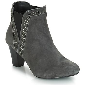 Chaussures Femme Bottines André BRITANIE Gris