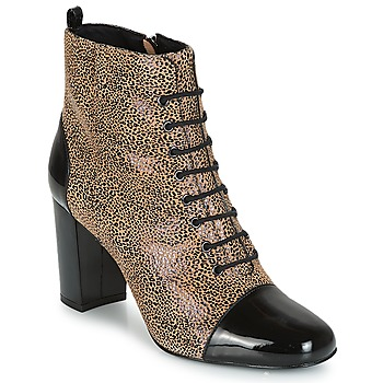 Chaussures Femme Bottines André CONGA Beige