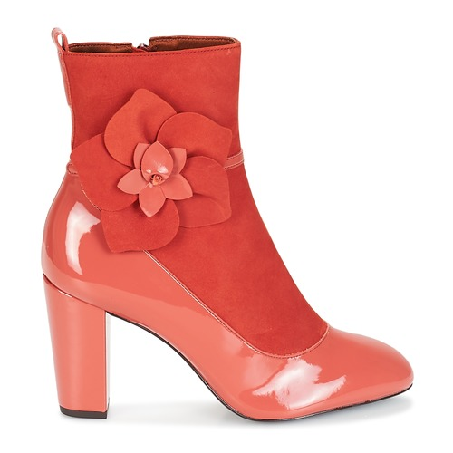 Femme Rose Magdalena André Bottines Chaussures N80Oyvwmn