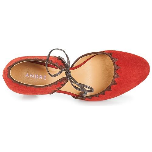 Rouge Escarpins Chaussures Allegra André Femme b7g6yfY